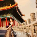 変身写真 艾葳精品婚紗 IVY BRIDE 中正紀念堂