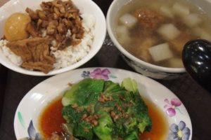 台北101 フードコート 定食